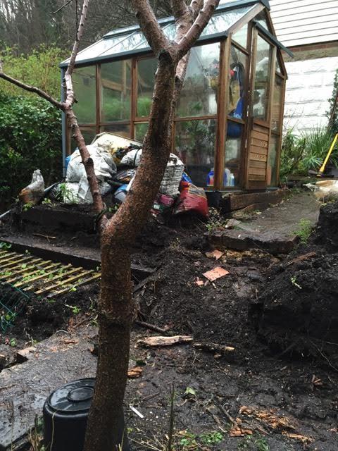 dismantling garden