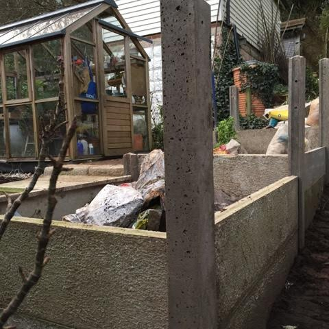 raised beds in construction