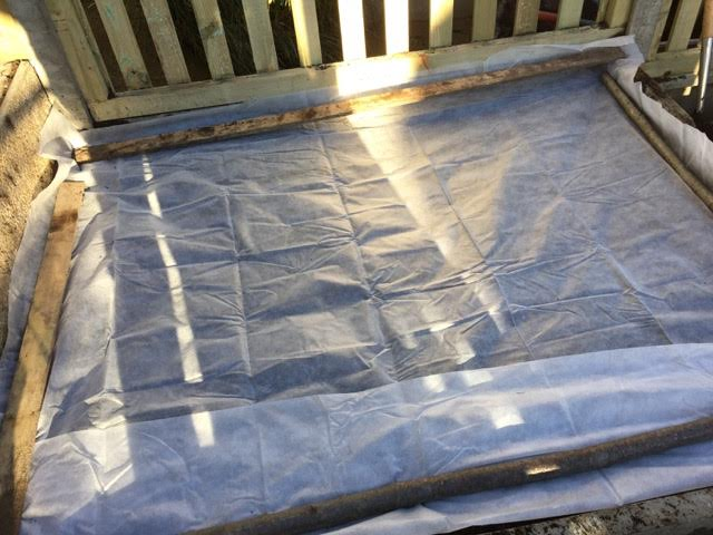 sheet to cover soil