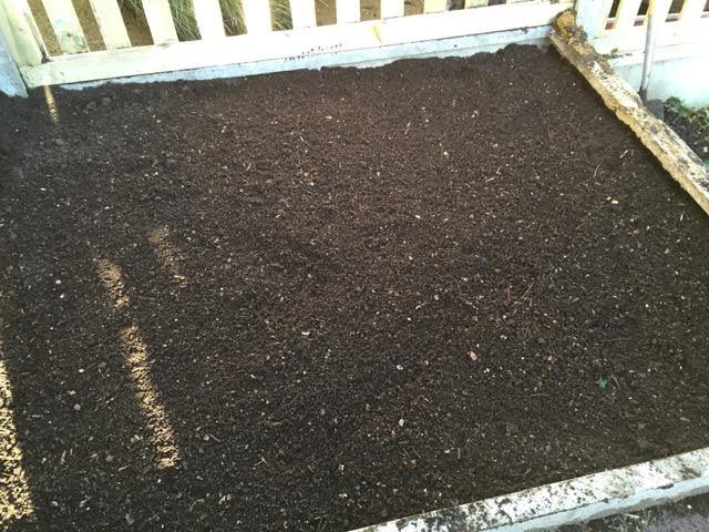 soil on top
