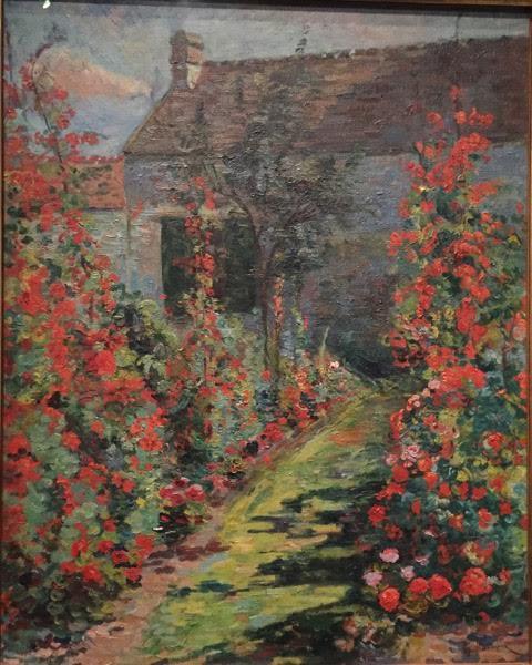 oil painting garden