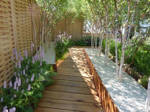 Modern. Modern Garden Design With Flowers   The Gardening
