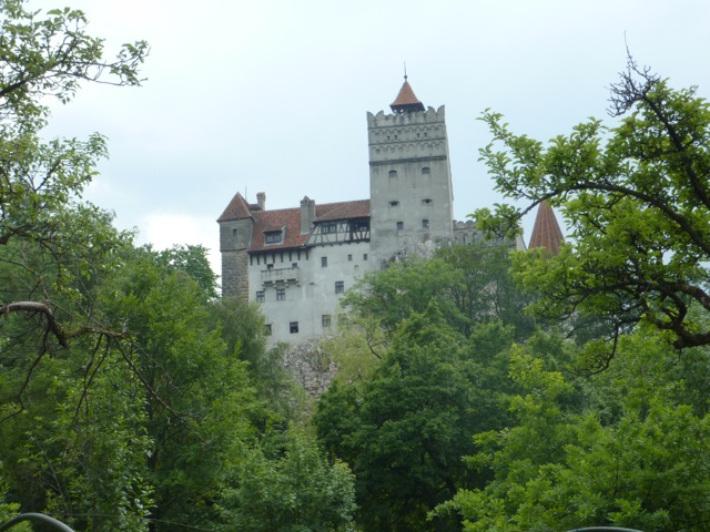 the castle that was home to Vlad the Impaler