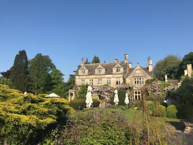 Barnsley House, wisteria